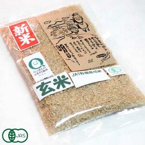 【令和2年度新米】 ご試食パック 有機コシヒカリ 玄米2合 有機JAS (福井県 よしむら農園)産地直送