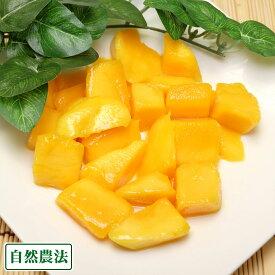 冷凍カットマンゴー 6kg 自然農法 (沖縄県 沖縄マンゴー生産研究会) 送料無料