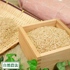 【令和元年度産】亀よし はさがけ米 玄米 10kg 自然農法 (岩手県 木こり菊池農園) 産地直送