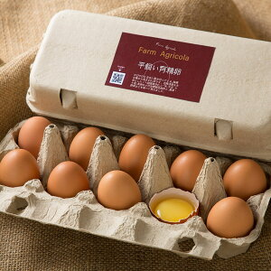 平飼い有精卵 10個×3パック (北海道 Farm Agricola) 産地直送 たまご