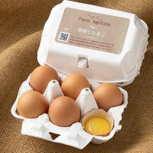 亜麻仁卵(あまにたまご) 6個×2パック (北海道 Farm Agricola) 産地直送 たまご