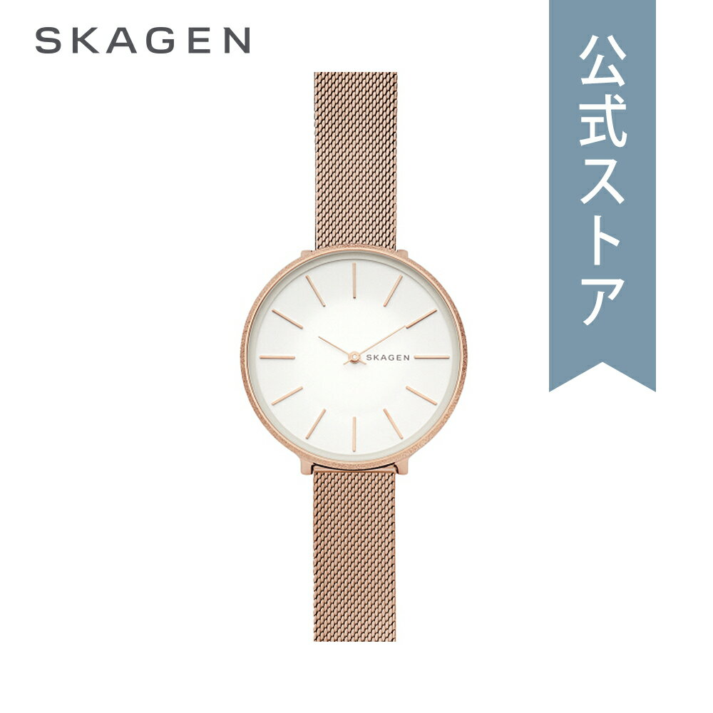 今すぐ使える5%OFFクーポン配布中!2018 秋の新作 スカーゲン 腕時計 公式 2年 保証 Skagen レディース カロリーナ KAROLINA SKW2726