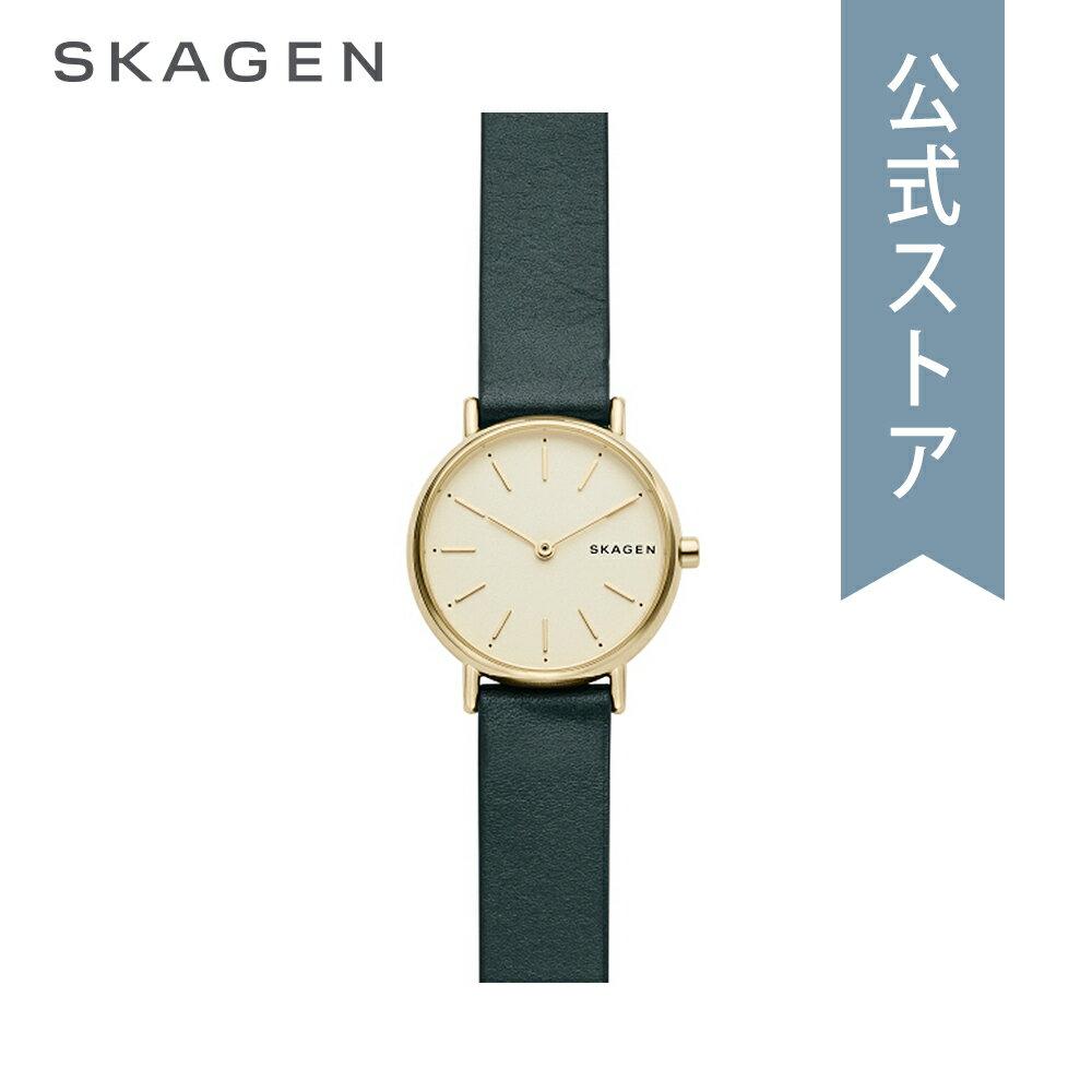今すぐ使える5%OFFクーポン配布中!2018 秋の新作 スカーゲン 腕時計 公式 2年 保証 Skagen レディース シグネチャー SIGNATUR SKW2727