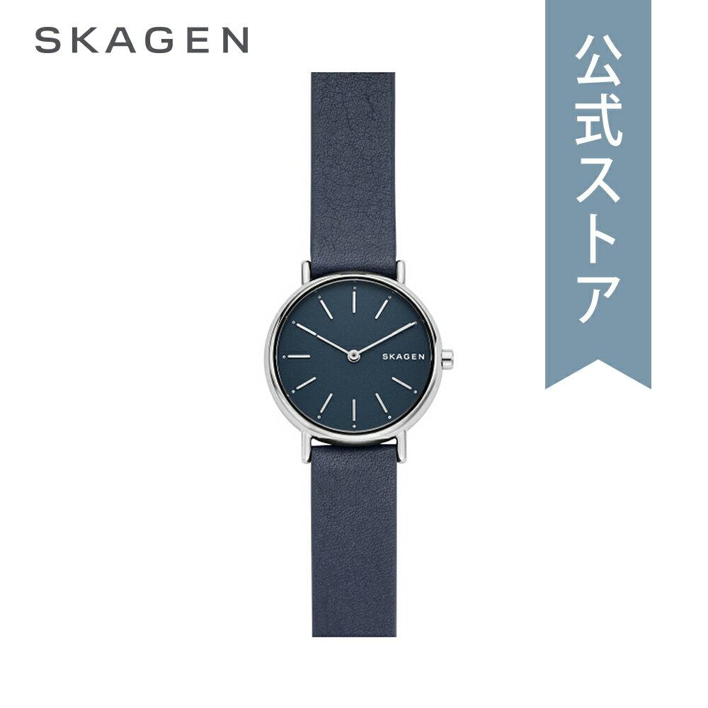 今すぐ使える5%OFFクーポン配布中!2018 秋の新作 スカーゲン 腕時計 公式 2年 保証 Skagen レディース シグネチャー SIGNATUR SKW2728