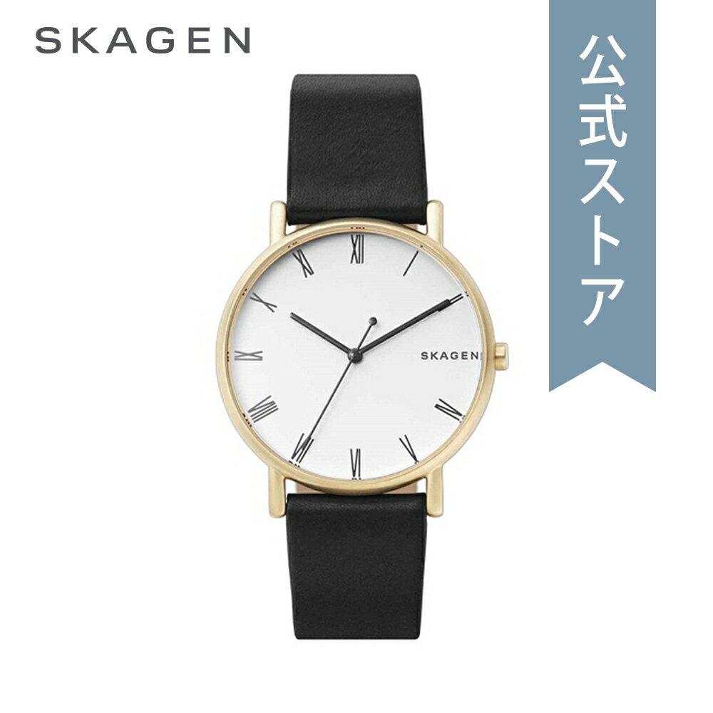 [ハロウィン イベント中] ストラップ プレゼント!今すぐ使える5%OFFクーポン配布中!2018 秋の新作 スカーゲン 腕時計 公式 2年 保証 Skagen メンズ シグネチャー SIGNATUR SKW6426