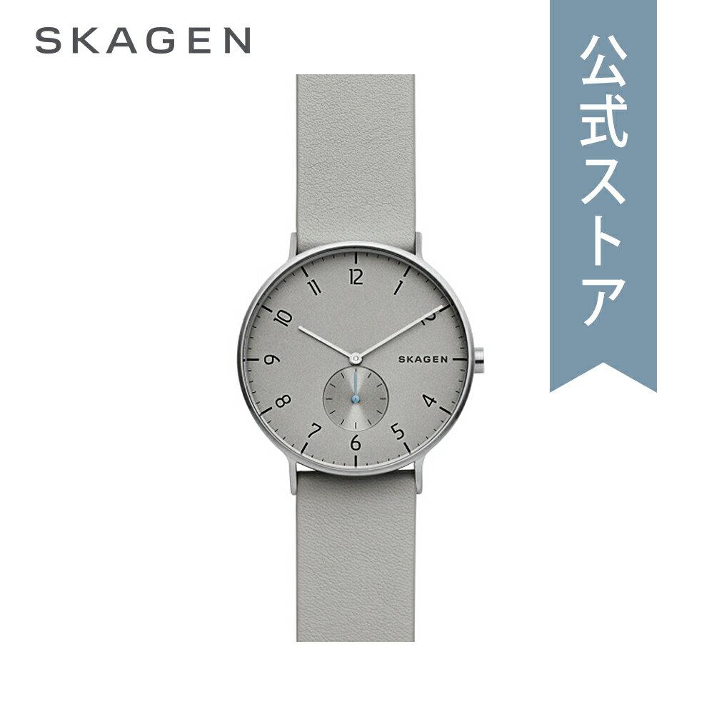 [ハロウィン イベント中] ストラップ プレゼント!今すぐ使える5%OFFクーポン配布中!2018 秋の新作 スカーゲン 腕時計 公式 2年 保証 Skagen メンズ アーレン AAREN SKW6467