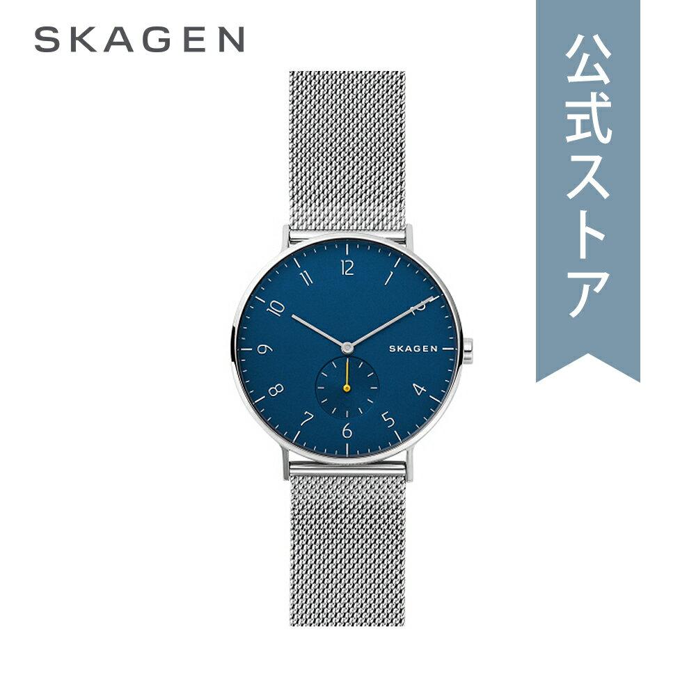[ハロウィン イベント中] ストラップ プレゼント!今すぐ使える5%OFFクーポン配布中!2018 秋の新作 スカーゲン 腕時計 公式 2年 保証 Skagen メンズ アーレン AAREN SKW6468
