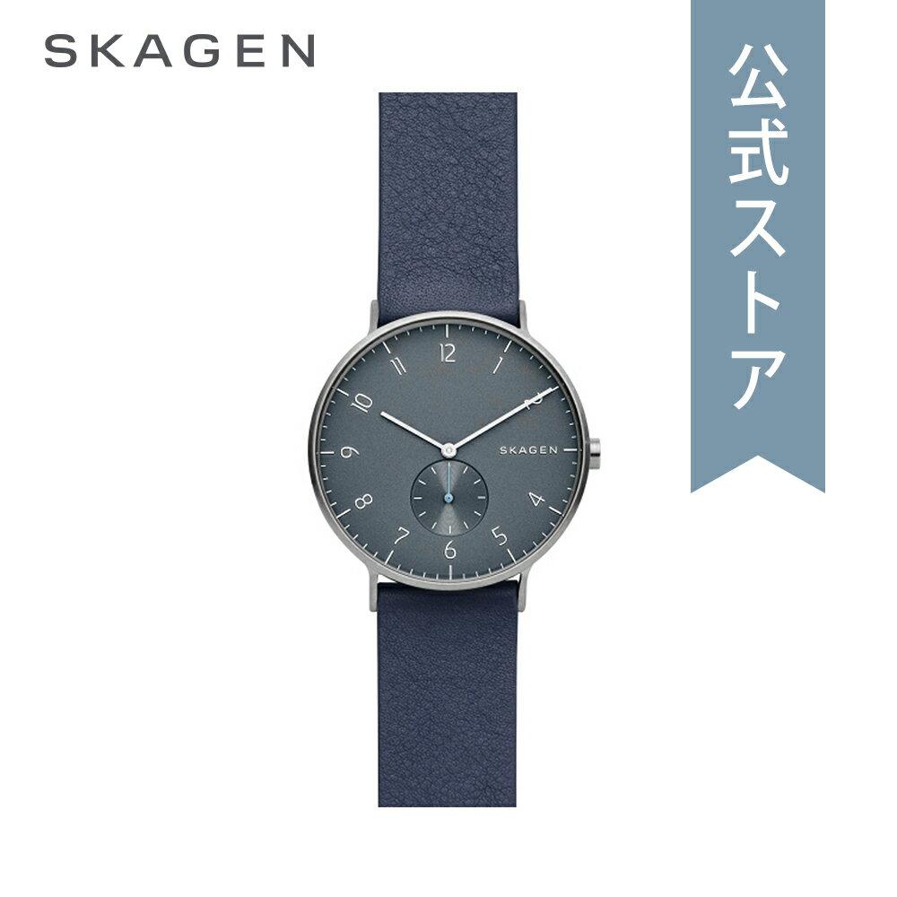 [ハロウィン イベント中] ストラップ プレゼント!今すぐ使える5%OFFクーポン配布中!2018 秋の新作 スカーゲン 腕時計 公式 2年 保証 Skagen メンズ アーレン AAREN SKW6469