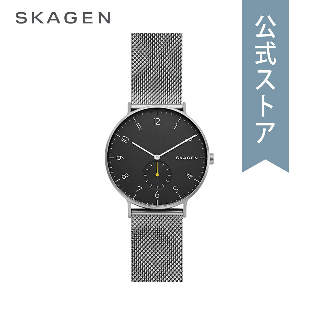 [ハロウィン イベント中] ストラップ プレゼント!今すぐ使える5%OFFクーポン配布中!2018 秋の新作 スカーゲン 腕時計 公式 2年 保証 Skagen メンズ アーレン AAREN SKW6470