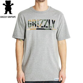 Tシャツ 半袖 グリズリー GRIZZLY スケボー スケートボード BRANCH CAMO STAMP TEE