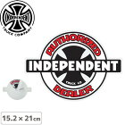 INDEPENDENTの糊面印刷ステッカー! 【インディペンデント INDEPENDENT スケボー ステッカー】OG AUTHORIZED STICKER【15.2 x 21cm】NO117