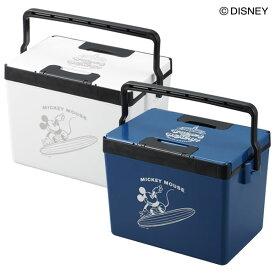 【サンカ公式】ディズニー おしゃれ クーラーボックス 小型 9L 【日本製】 クールボックス ミッキー ブルー ホワイト 白 かっこいい サンカ SANKA ペットボトル 保冷力 アウトドア 釣り フィッシング キャンプ 保冷ボックス 保冷ボックス ミニ 12L