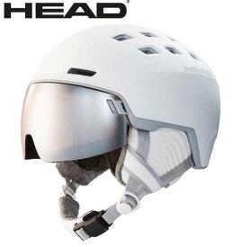 4/6AMまで!クーポンで10%OFF!HEAD ヘッド 19-20 ヘルメット RACHEL col:White スキー スノーボード ヘルメット バイザー付:323509 [34SS_HEL]