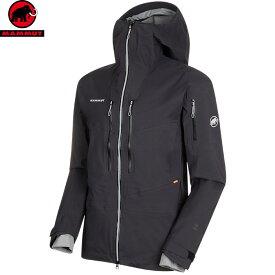 ポイント10倍!4/16 01:59までMAMMUT マムート Haldigrat HS Hooded Jacket Men スキーウェア ジャケット メンズ (black):1010-27390 [34SS_WSsw]