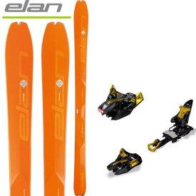 エラン ELAN 18-19 スキー ski 2019 IBEX 94 Carbon + MARKER キングピン 10 [金具付き2点セット] バックカントリー