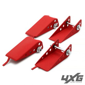 ジムニー JB23 アーム スキッドガード 前後セット フロント リア 4GX ヨンクスギア red JB23W JB33W JB43W ジムニーワイド シエラ