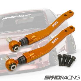 車検 OK SUPER SPEC 日産 シルビア S13 180SX 切れ角アップ対応 オフセット テンションロッド フロント