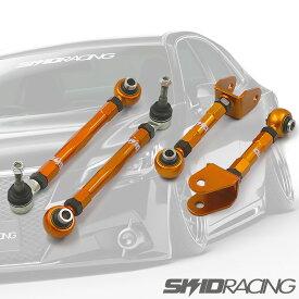 SUPER SPEC 18クラウン リア アッパー キャンバー アーム セット 調整式 ピロ マークX GRS180 GRS200 18 20 AWS21 GRX120 130 マジェスタ set