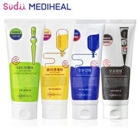 メディヒール クレンジング フォーム MEDIHEAL Cleansing Foam 170ml N.M.F Collagen Tea-Tree Charcoal-Powder 韓国コスメ クレンジングフォーム 韓国コスメ