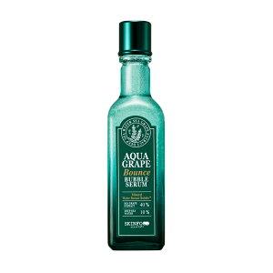 スキンフード アクアグレープ バウンス バブルセラム 美容液 海ブドウ 海ぶどう ハリ 弾力 ヒアルロン酸 ミネラル SKINFOOD 韓国コスメ
