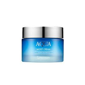 [Berrisom/ベリサム] Aqua Moist Cream / アクアモイストクリーム 50g フェイスクリーム 保湿 しっとり 水分 うるおい SkinGarden/スキンガーデン