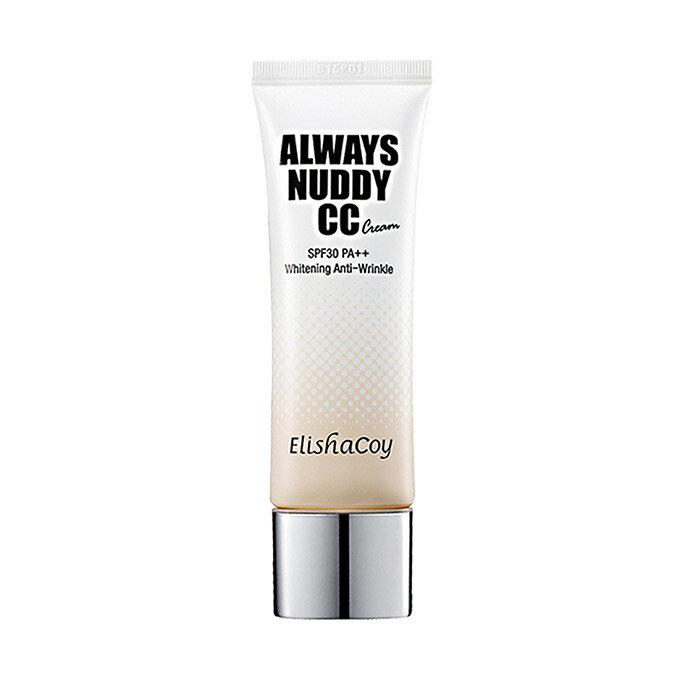 【おまけ付き】[ELISHACOY/エリシャコイ] Always Nudy CC Cream SPF 30 PA ++ 50 g/オールウェイズヌーディCCクリーム SPF30 PA++ 50g/コンシーラー スポット カバー フェイス ベースメイク メイクアップ 化粧品 コスメ 韓国コスメ SkinGarden/スキンガーデン