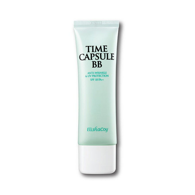 【おまけ付き】[ELISHACOY/エリシャコイ] Time Capsule BB / タイムカプセルBB SPF18/PA++ 50g 韓国コスメ Skingarden/スキンガーデン