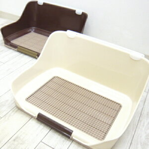 ウォール トイレトレー Sサイズ   チワワ 犬 小型犬 犬トイレ トレー トイレ容器 トイレ メッシュ レギュラー 囲い おしゃれ マーキング おしっこ 壁トイレ ペットシーツ トイレフレーム