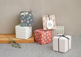 【ICONIC】ギフトボックスSサイズ★6種類 プレゼント 包装 箱 ギフトボックス present box ボックス wrapping 記念日 誕生日 お祝い