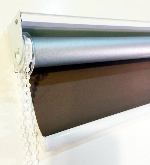ロールスクリーン/遮光99.9%遮熱も選択可能オーダーメイドロールカーテン【オーダーメイド】横幅121〜140cm×高さ30〜60cmでサイズをご指定遮光小窓防炎GAROSEROガロセロricoblindリコブラインド