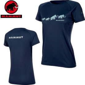 MAMMUT マムート QD AEGILITY T-Shirt AF Women レディース Tシャツ 2019 SS (peacoat):1017-10072