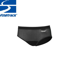 finetrack ファイントラック レディース スキンメッシュ ショーツ Col:BK アンダーウエア スポーツ 吸汗 速乾 撥水:FUW0415