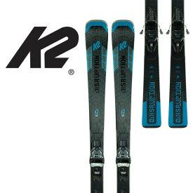 送料無料 NEWモデル 予約 早期 K2 ケーツー 20-21 DISRUPTION SC ALLIANCE + ER3 10 (金具付) スキー 板 オンピステ カービング レディース