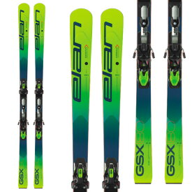 ELAN エラン 19-20 スキー 2020 GSX MASTER PLATE GSXマスタープレート (金具付き) GS レーシング スキー板 (onecolor):