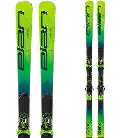 ELAN エラン 19-20 スキー 2020 GSX Fusion X GSXフュージョンX (金具付き) GS レーシング スキー板 (onecolor):