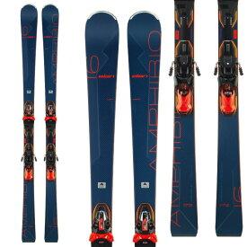 ELAN エラン 19-20 スキー 2020 AMPHIBIO 16Ti Fusion X アンフィビオ16Ti (金具付き) オールラウンド デモ スキー板 (onecolor):