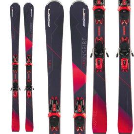ELAN エラン 19-20 スキー 2020 INSPIRE Power Shift インスパイア (金具付き) オールラウンド スキー板 レディース (onecolor):