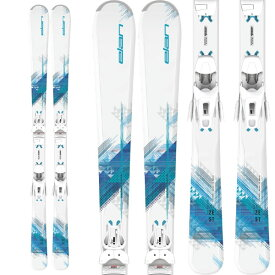 ELAN エラン 19-20 スキー 2020 ZEST BLUE Light Shift ゼストブルー (金具付き) オールラウンド スキー板 レディース (onecolor):