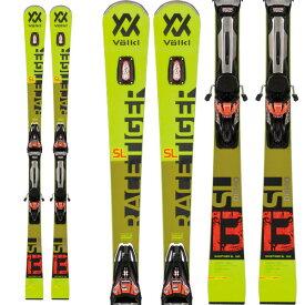 ポイント10倍 2/25AMまで!VOLKL フォルクル 19-20 スキー 2020 RACETIGER レースタイガー SL DEMO (金具付き) スキー板 レーシング デモ ショート (onecolor):