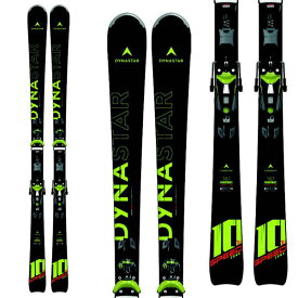 DYNASTAR ディナスター 19-20 スキー 2020 SPEED ZONE 10 TI スピードゾーン (KONECT) (金具付き) スキー板 オールラウンド デモ: