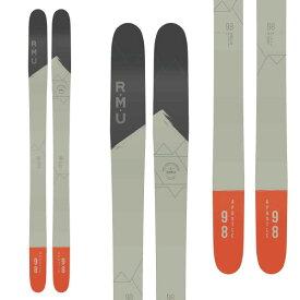 RMU アールエムユー 19-20 スキー 2020 APOSTLE 98 アポストール (板のみ) スキー板 パウダー ロッカー: