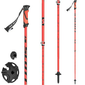 ポイント5倍!12/19AMまで!SCOTT スコット スキーポール ストック Riot 16 2-Part Ski Pole 伸縮ストック スキー ツアー バックカントリー:1103187