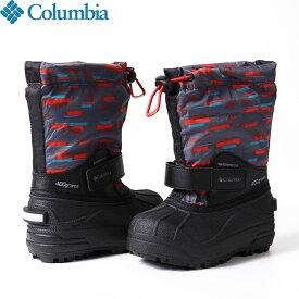 クーポン利用で10%OFF!3/3AMまで!Columbia コロンビア チルドレンズパウダーバグフォーティプリント 防寒 シューズ ブーツ 靴 ジュニア (054):BC1325