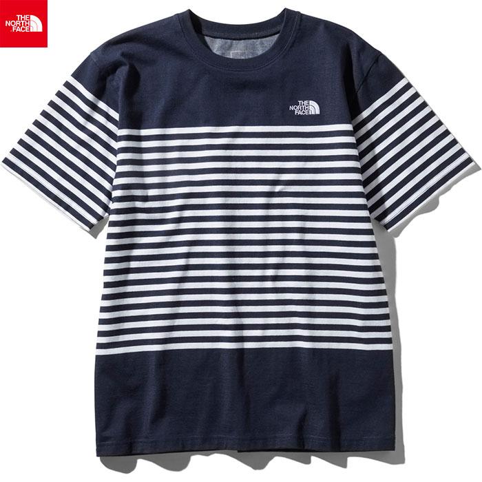 THE NORTH FACE ノースフェイス 2019 SS ショートスリーブパネルボーダーティー S/S Panel Border Tee Tシャツ (UN):NT31950
