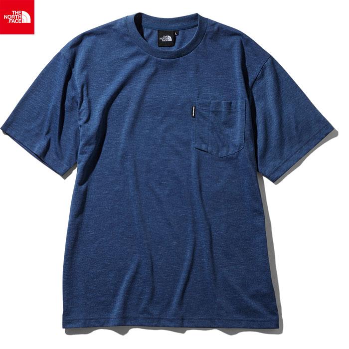 THE NORTH FACE ノースフェイス 2019 SS ショートスリーブクライミングポケットティー S/S Climbing Pocket Tee 速乾Tシャツ (BL):NT11935