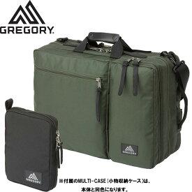 GREGORY グレゴリー カバートオーバーナイトミッション COVERT OVERNIGHT MISSION BAG カバン DAYパック 3WY (ダークグリーン):65076