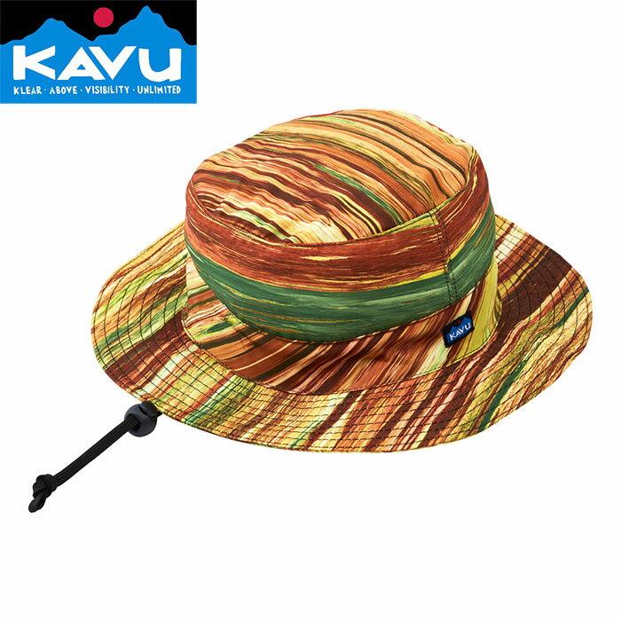 KAVU カブ- Synthetic Bucket 〔CAP 帽子 2018SS 〕 (ForestGrove):11863105 [クリアランスpt0]