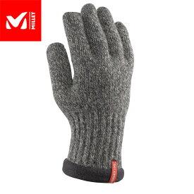 MILLET ミレー ウールグローブ WOOL GLOVE 2018FW ウールグローブ 手袋 MEN'S (BLACK-NOIR):MIV8149 [特価ミレー]