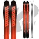 期間限定ポイント5倍K2 ケーツー 17-18 スキー Ski 2018 Pinnacle 105 ピナクル 105 [板のみ] オールマウンテン パウダー ロ...