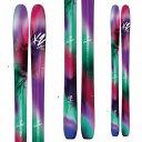 期間限定ポイント5倍K2 ケーツー 17-18 スキー Ski 2018 ラブボート105 Luv Boat 105 [板のみ] ロッカー パウダー レディース...